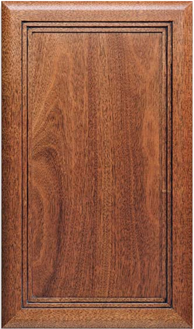 Victoria F-Panel African Mahogany S-3 Edge Door