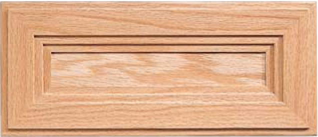 Victoria Red Oak Drawer Front