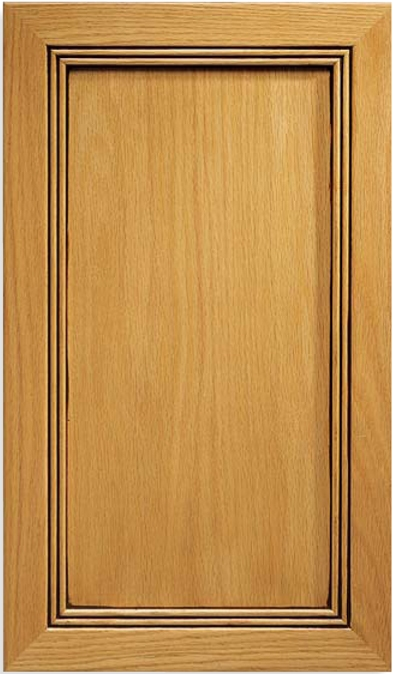 Windsor Red Oak Door