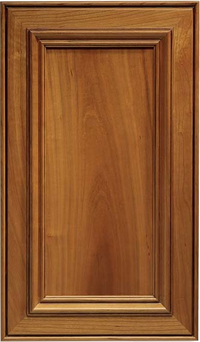 Inset Calistoga Cherry Cabinet Door