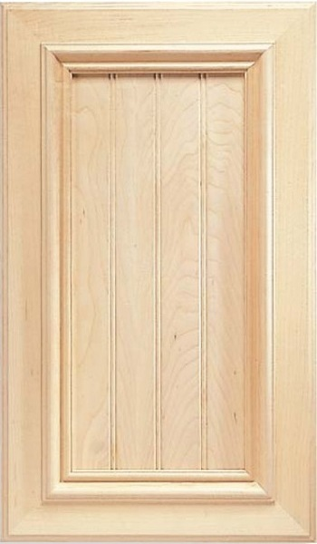 Beaded Inset Calistoga Maple Cabinet Door