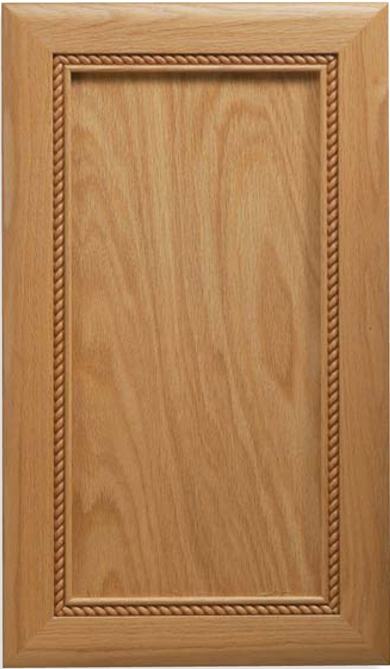 Inset Cape Cod Oak Cabinet Door