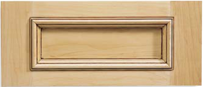 Cascade Maple Drawer Fronts