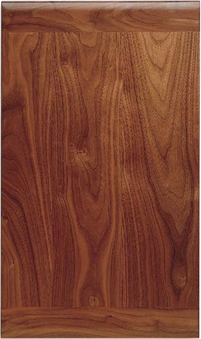 Contemporary Walnut Door