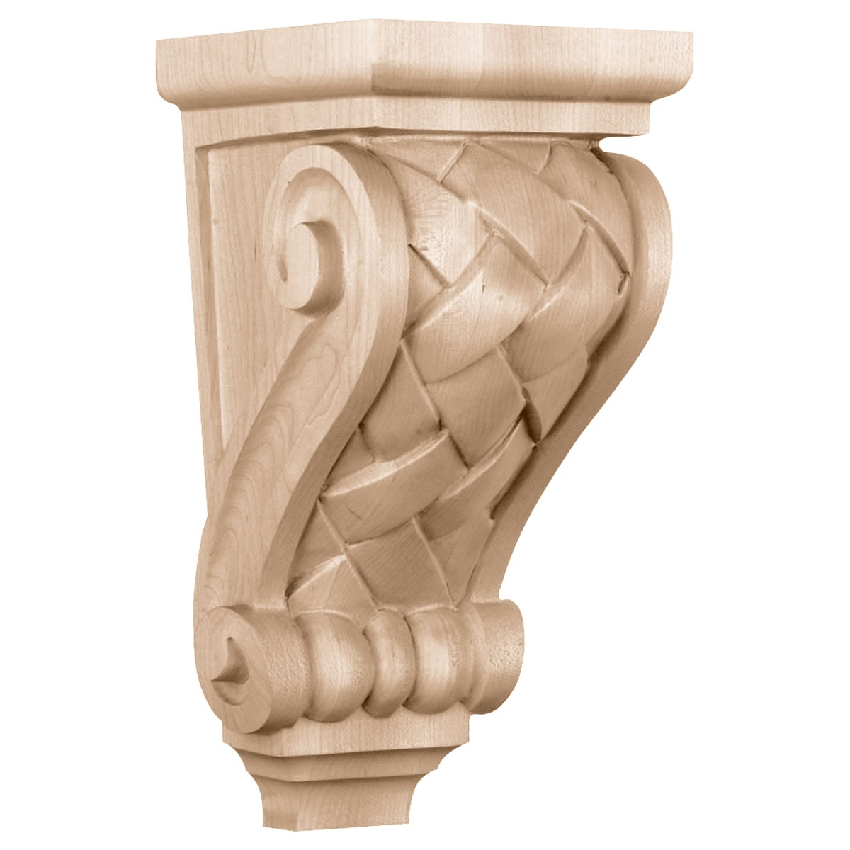 CORBW2 Medium Basket Weave Corbel