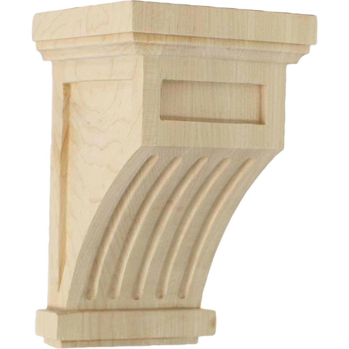 COR04X04X07FL Small Fluted Corbel
