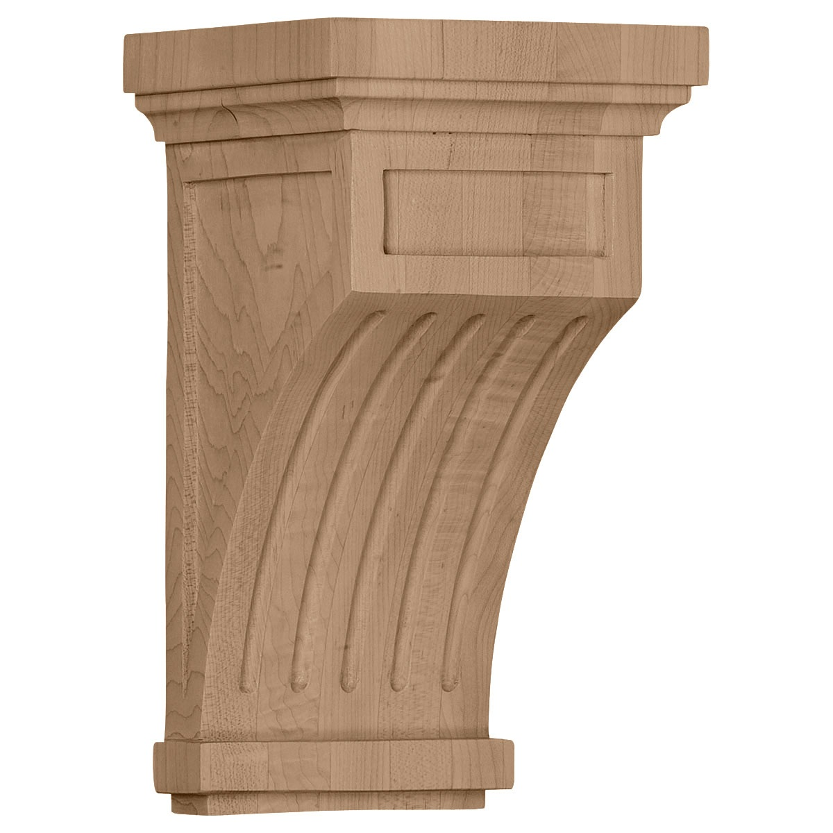 COR05X05X10FL Medium Fluted Corbel