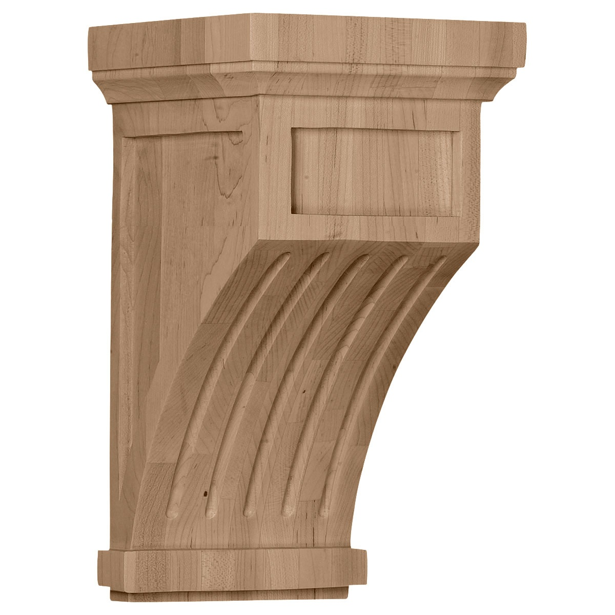 COR07X07X13FL Large Fluted Corbel