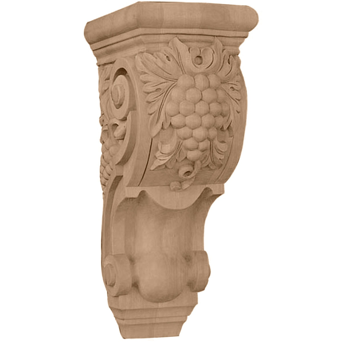COR04X05X10GR Medium Grape Bunches Corbel