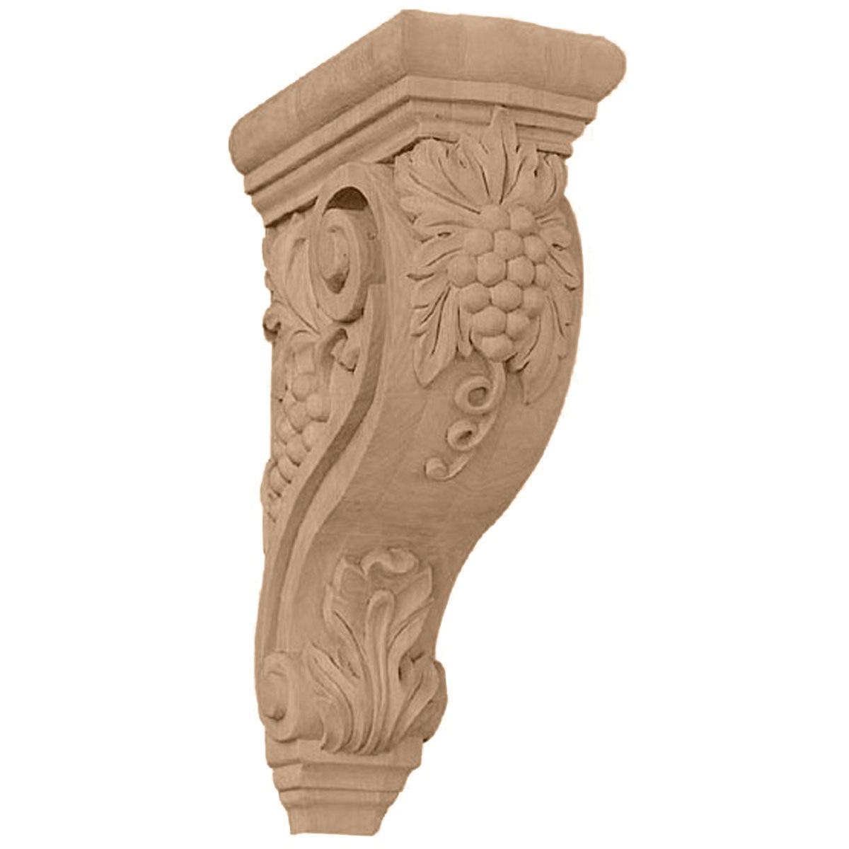 COR04X08X13DE Devon Grapes & Vines Corbel