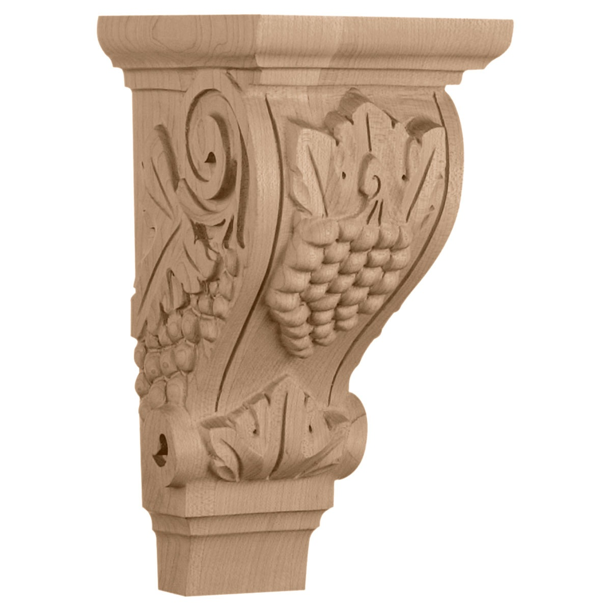 "CORGR2 Medium Grape Corbel 4 3/4""W x 5""D x 9 1/2""H"