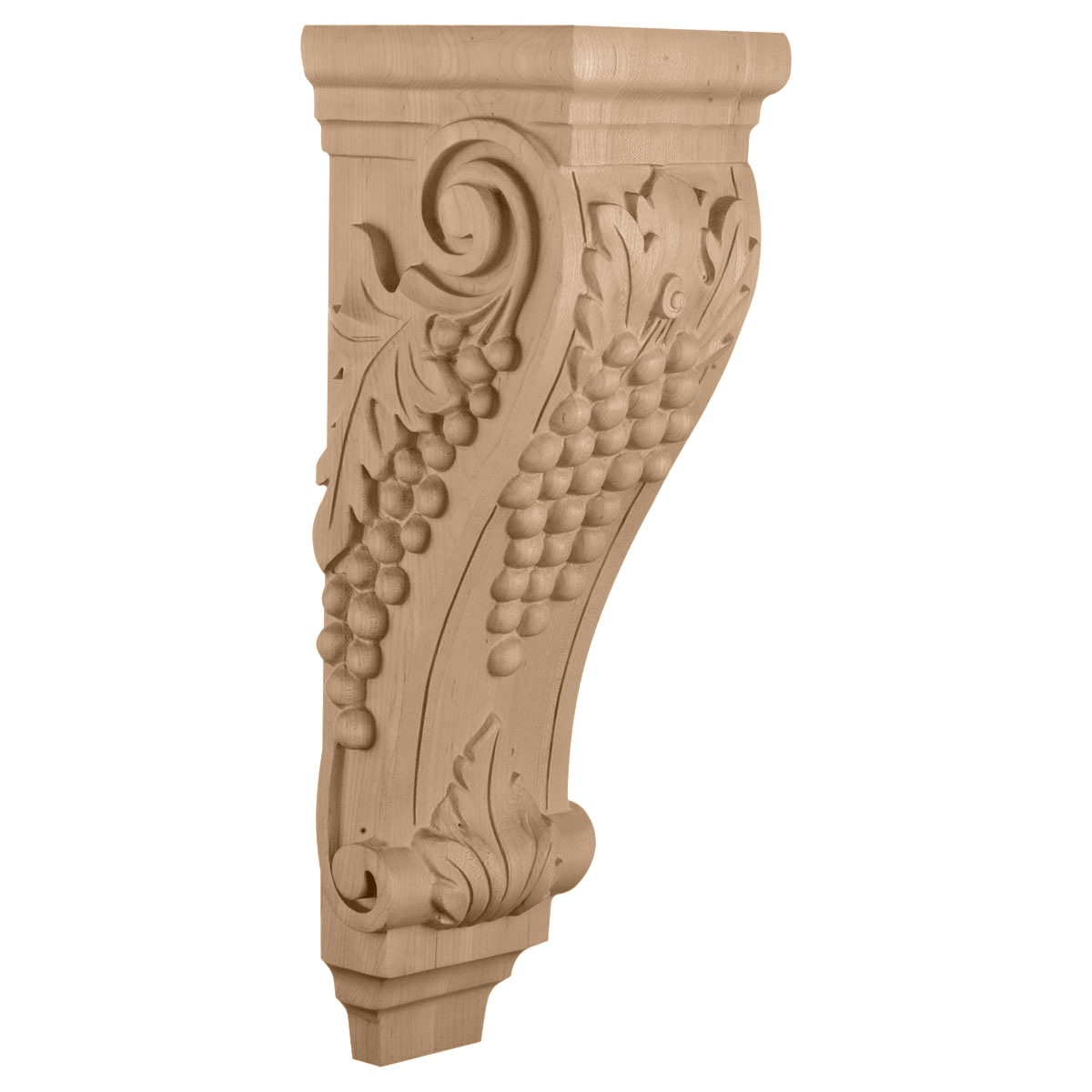 "CORGR8 Extra Large Grape Corbel 6 1/2""W x 7 5/8""D x 22""H"