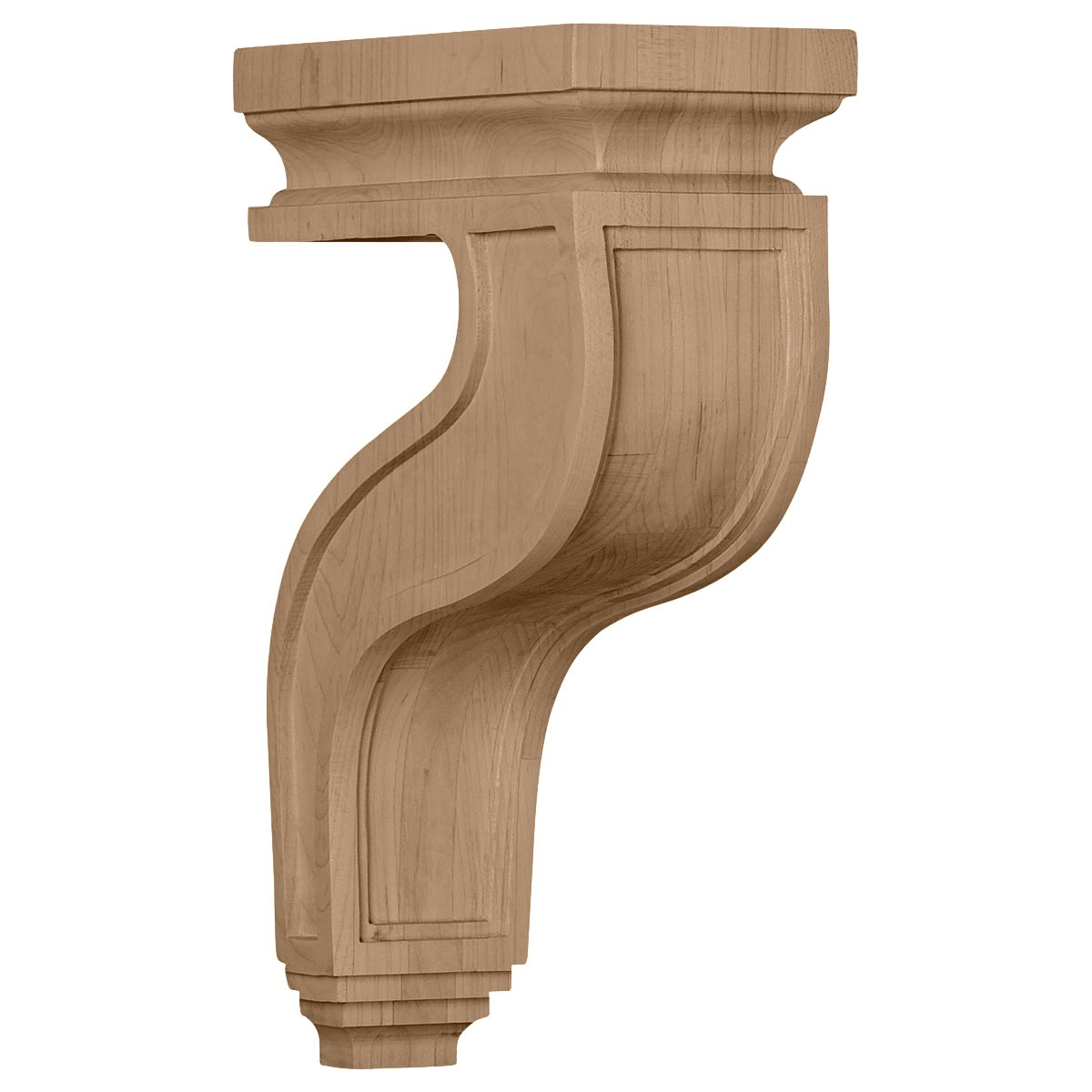 COR04X08X13HA Large Hollow Back Corbel