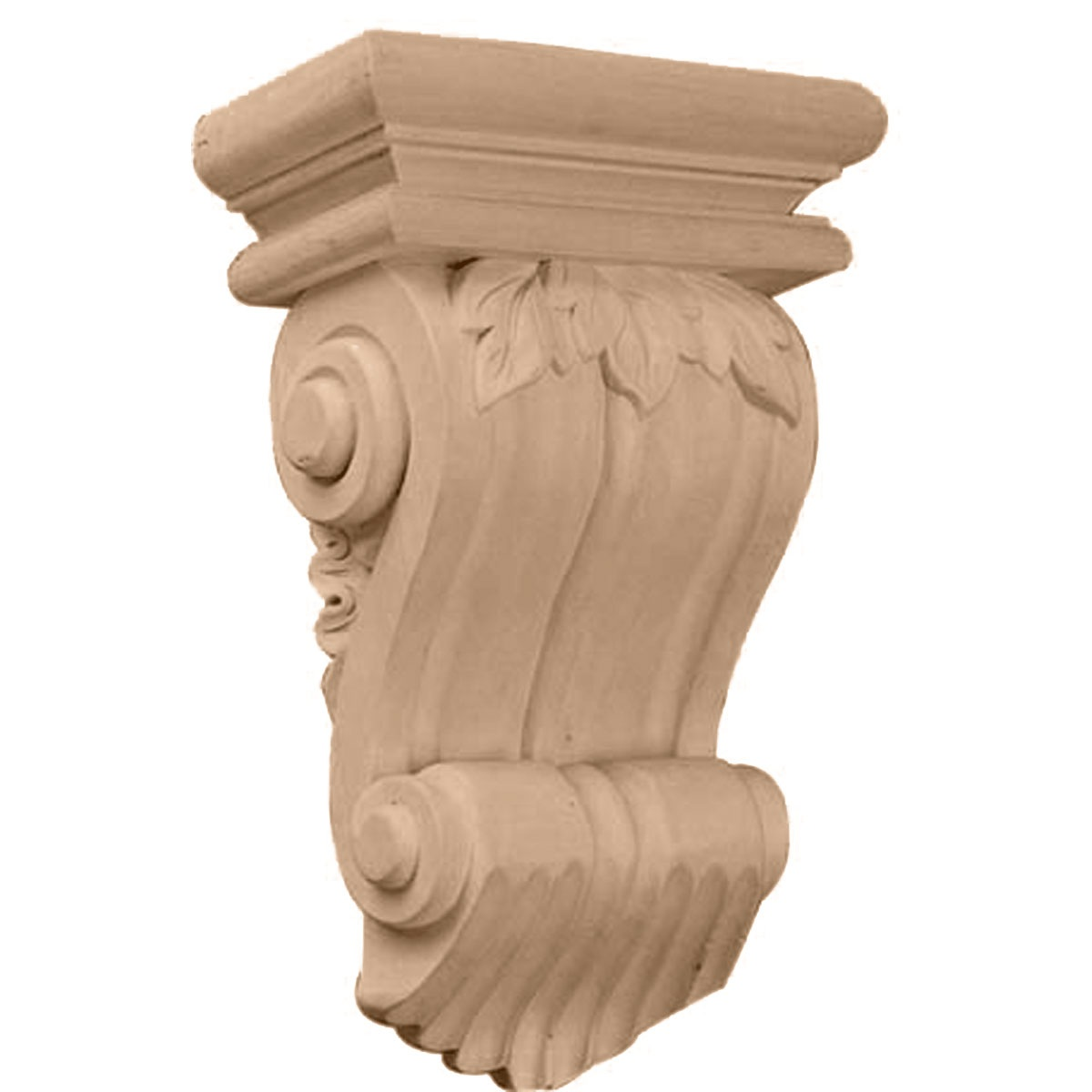 COR07X03X10TR Traditional Leaf Corbel