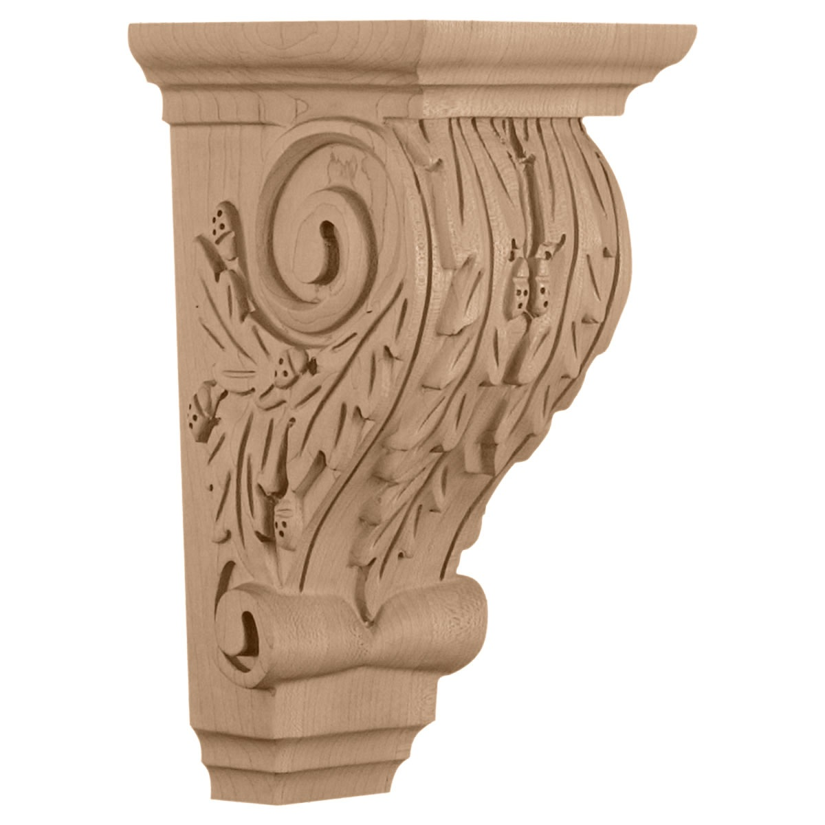 COROL2 Medium Oak Leaf Corbel