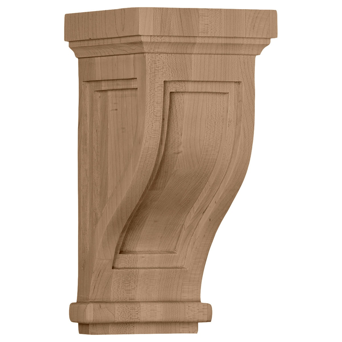 COR04X05X10TR Extra Small Charleston Mission Corbel
