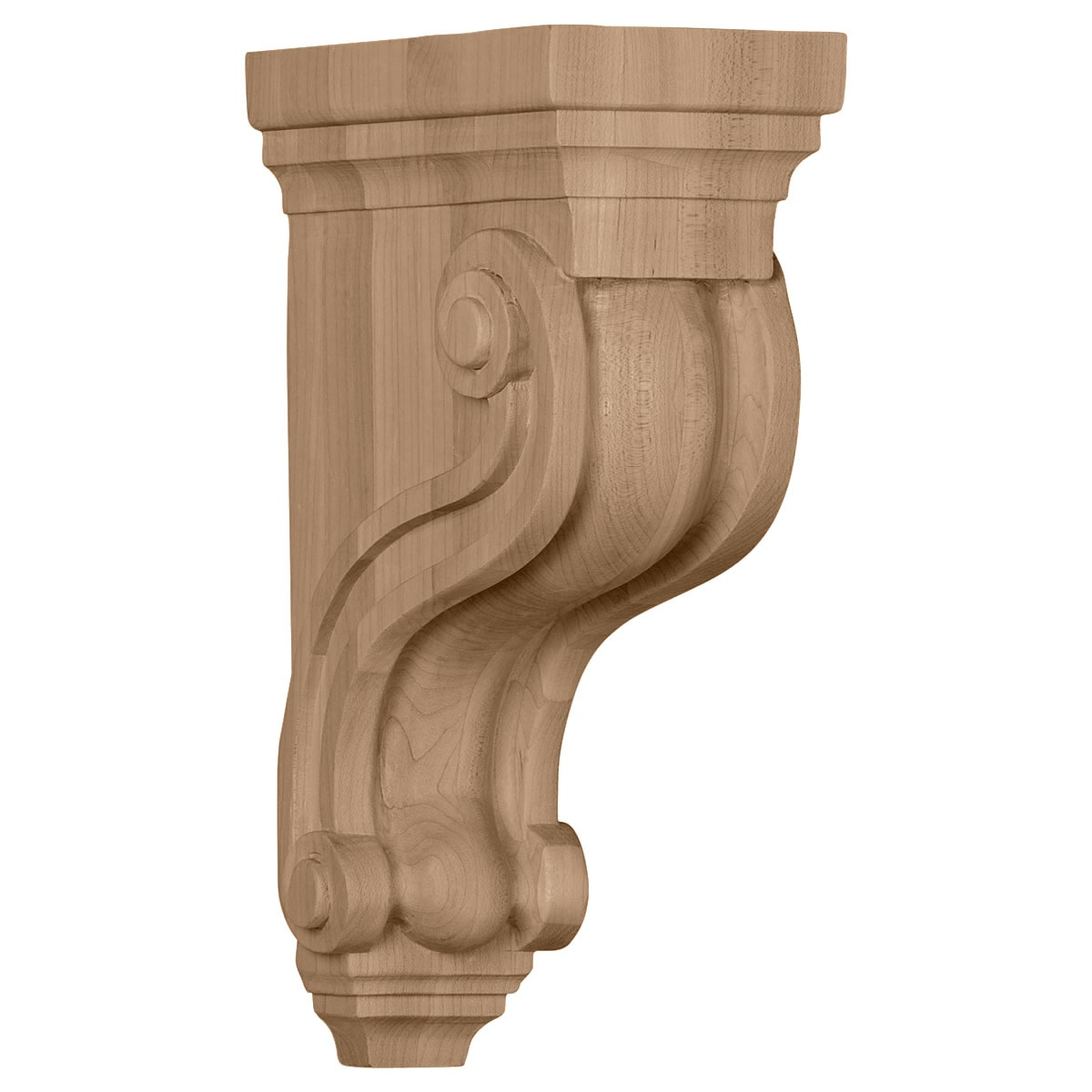 COR04X08X13FI Large Fig Leaf Corbel