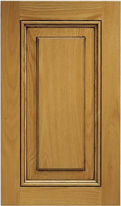 Coronado Red Oak Raised Panel Cabinet Door
