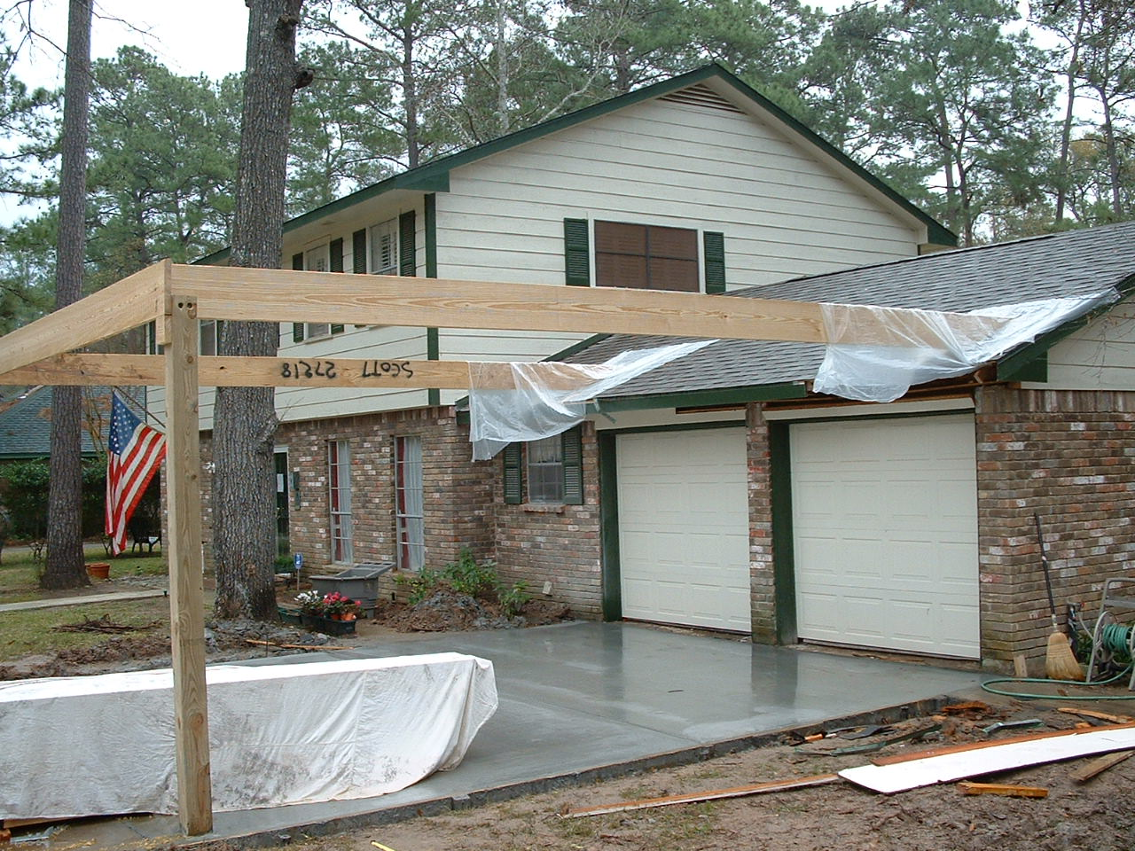 Wooden concepts log cabin siding cedar siding for Carports and garages
