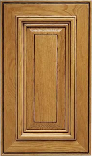 Solid Wood Florence Oak Cabinet Door