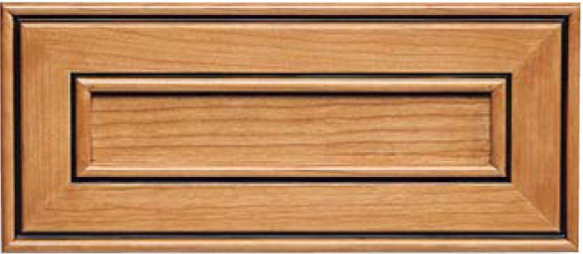 Harvard Maple Recessed Panel Drawer Front