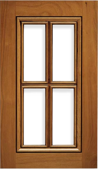 Laguna Cherry French Lite Cabinet Door