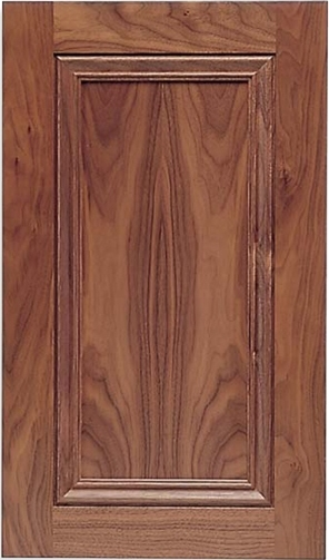 Laguna Walnut Recessed Panel Cabinet Door