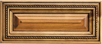 Maine Maple Raised Panel Drawer Front
