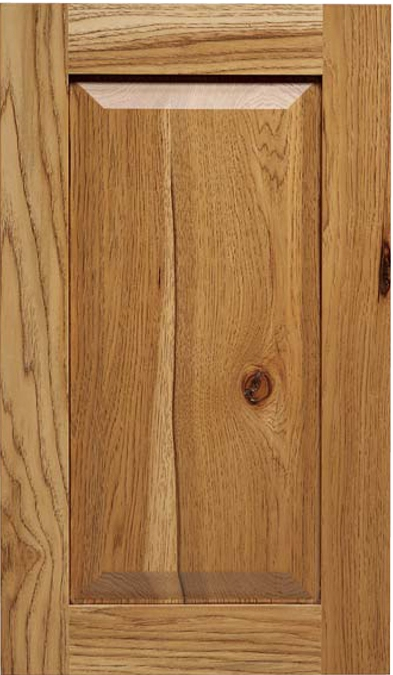 Maverick G-Panel Rustic Oak Door