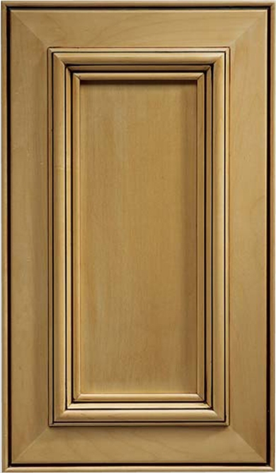 Inset Milano Maple Cabinet Door