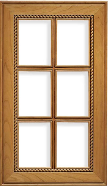 French Lite Nantucket Maple Cabinet Door
