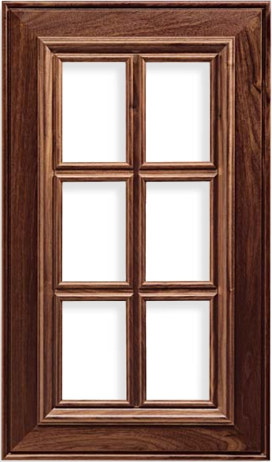 French Lite Napa Walnut Cabinet Door