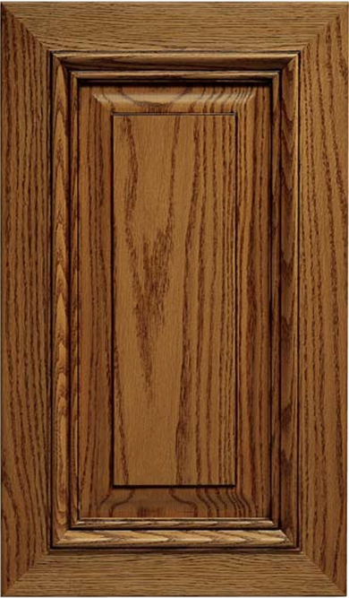 Solid Wood Napa Oak Cabinet Door