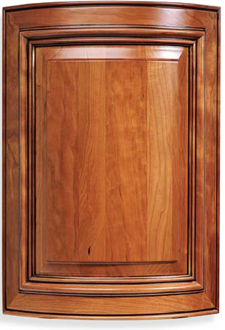 Custom Radius Cabinet Door