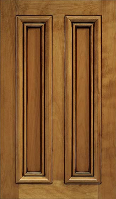 Pleasanton Cherry Recessed Panel Cabinet Door