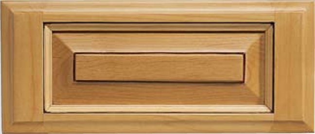 Revere 5 pc. C-Panel Maple Drawer Front