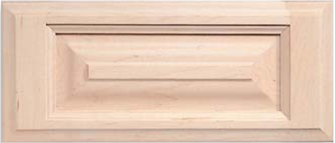 Revere 5_pc. S-Panel Maple Drawer Front