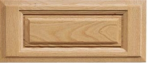 Revere N-Panel Red Oak Drawer Front