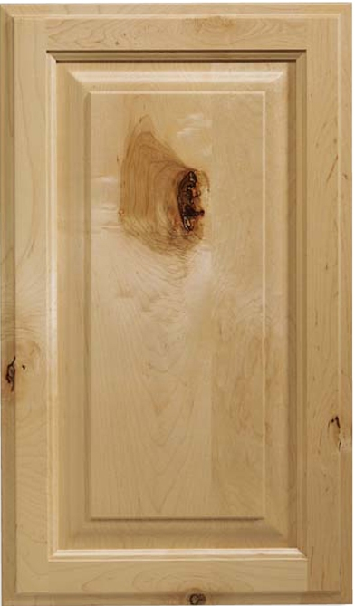 Revere S-Panel Rustic Maple Door