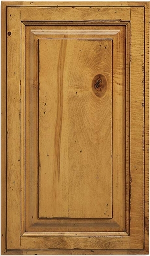 Revere Panel Rustic Maple Door