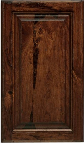 Revere W-Panel Rustic Cherry Door