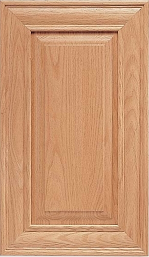 Ordinaire Rochester S Panel Red Oak Door