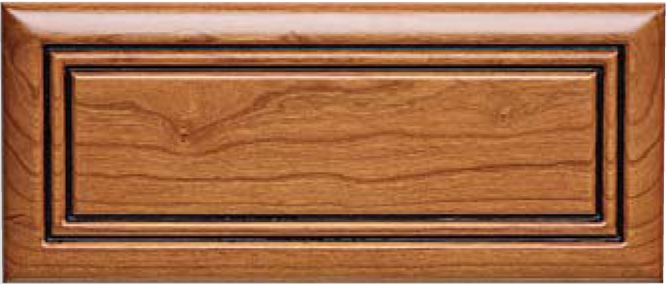 Routed DB-3 Cherry Drawer Front