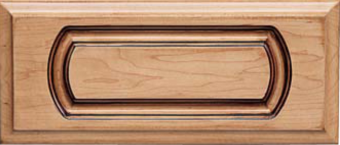 Routed DC-5 Maple Drawer Front