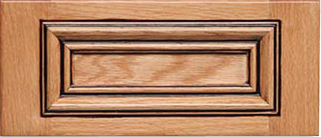 San Marino Red Oak Drawer Fronts