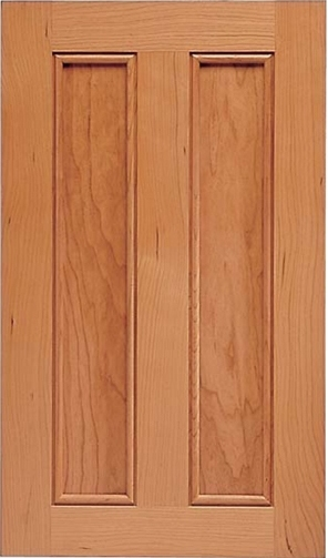 San Ramon Cherry Recessed Panel Cabinet Door