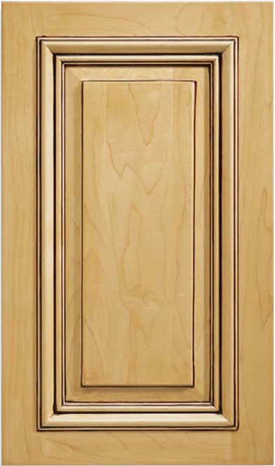 San Simeon Maple Raised Panel Cabinet Door