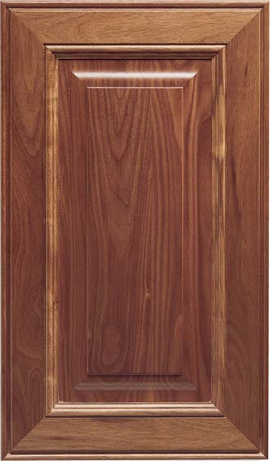 Solid Wood Stanford Walnut Cabinet Door