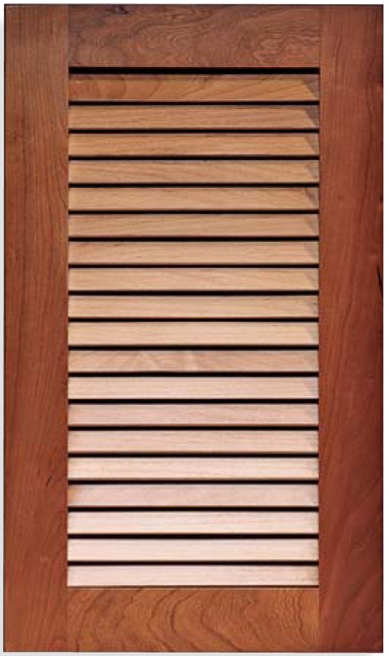 Bon True Open Louvered Style Cabinet Door