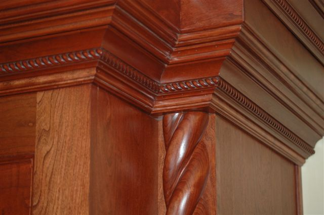 Multi Piece Crown Stack Custom Cabinets Decorative